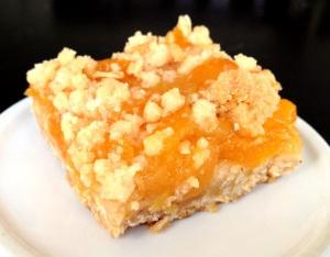 Apricot Oat Bars